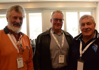 Roger Farley, Garry Hansen and Geoff Power.