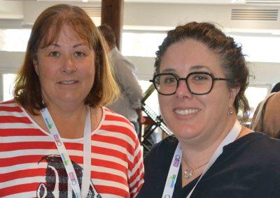 Women Together Learning's Kim Blenkiron and PIRSA's Jennifer Barwick.