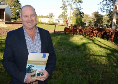 SA Beef Industry Blueprint working group chair Bruce Creek.