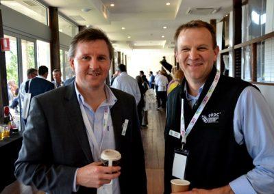 GRDC's Craig Ruchs and Randall Wilksch.