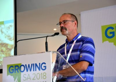 Dr Stuart Smyth from the University of Saskatchewan, Canada, presenting at Growing SA.