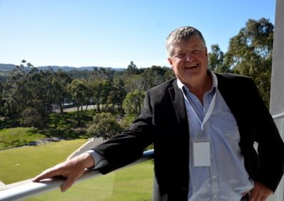 Incoming GPSA director Peter Cousins, Crystal Brook.