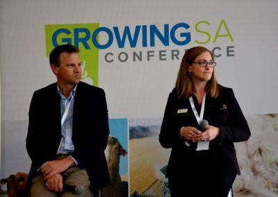 Former SAFF Emerging Leaders participants Randall Wilksch and Deanna Lush.