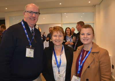 190828 LRegional Investment Corporation's Craig Turner with producers Sharon and Rebekah Starick.IVSA Growing SA 2019 (34)