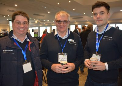 Rural Bank's Darren O'Higgins, Craig Eckhert and Alex Drews.