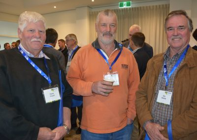Producers Peter Filsell, Roger Farley and Jim Stacey.