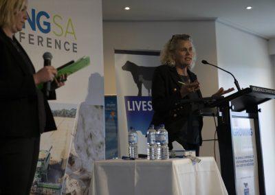 NFF president Fiona Simson.
