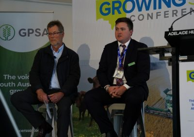 Panel session with Livestock SA President Joe Keynes and GPSA Ch